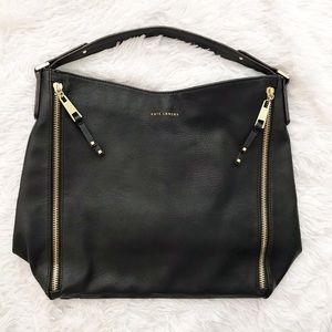 Kate Landry Faux Leather Shoulder Bag